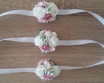 Wedding Corsage, Groom Boutonniere, Groomsmen Boutonniere, Flowers