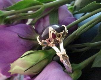 Baba Yaga Ring (Original Design), Made to order (Price May Vary)