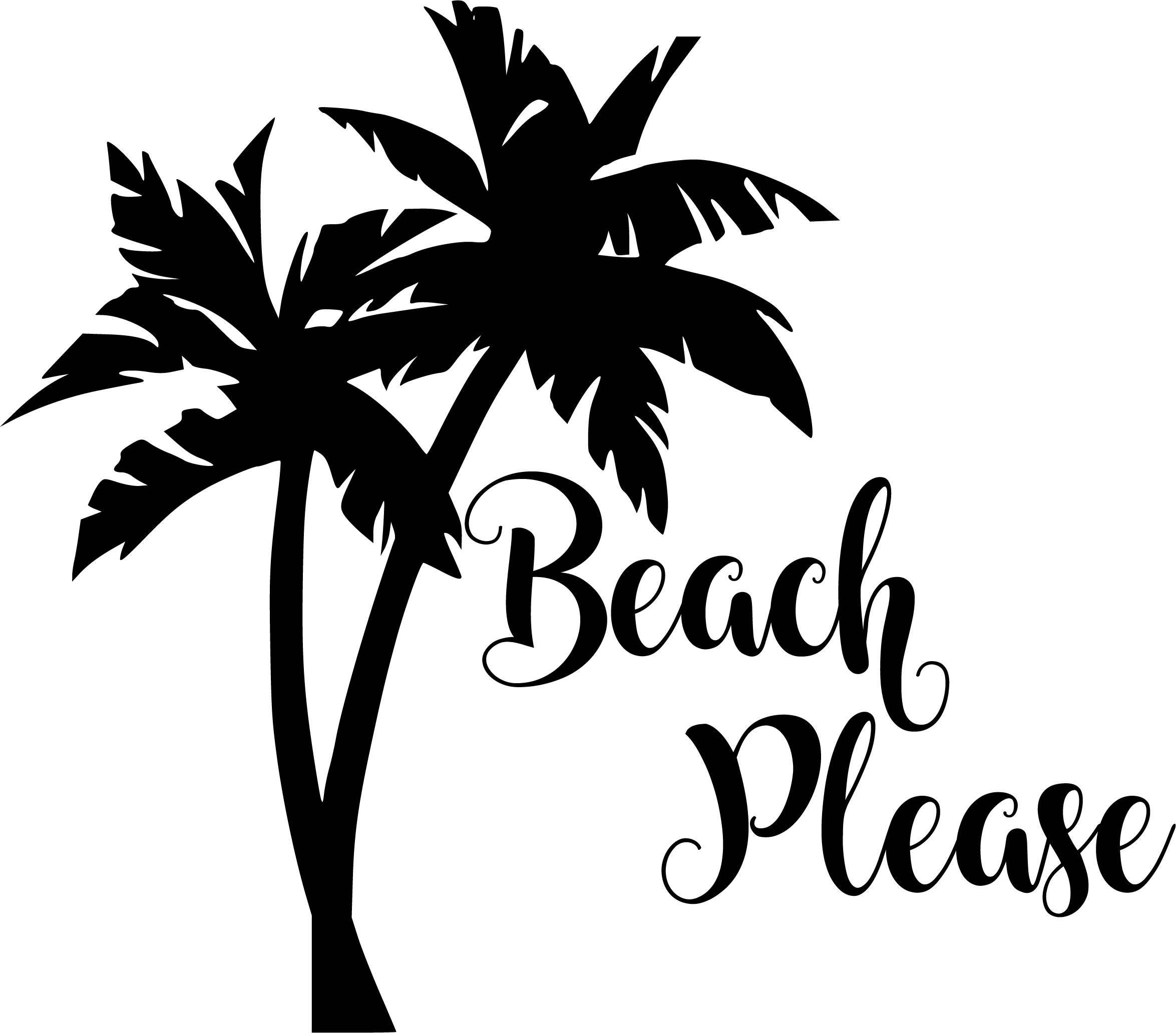 Free Svg Files Of Sunglasses With Palm Trees | Green