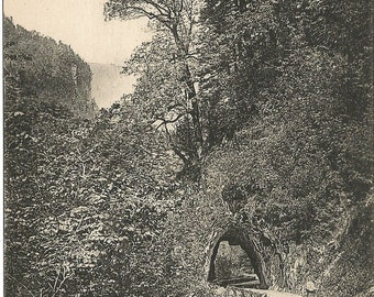 Dauphine, France - Tunnel  - Grande Chartreuse circa 1910 Unused Postcard