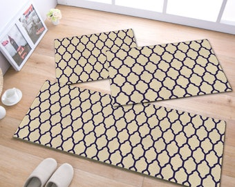 "Kitchen Rugs Carmim, 15""x35"" - 3 piece"