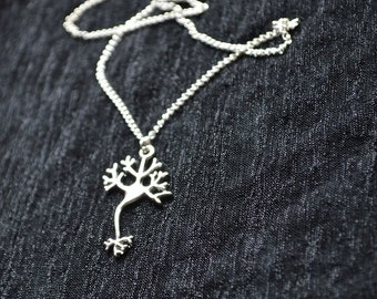 Biolojewelry - Neuron Science Necklace