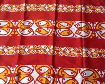 Maori Print Sarong/Pareu/Pareo.