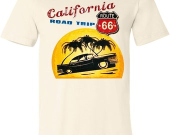 Vintage California Road Trip Tee