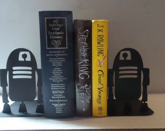 R2-D2 Star Wars Inspired Bookends - Metal