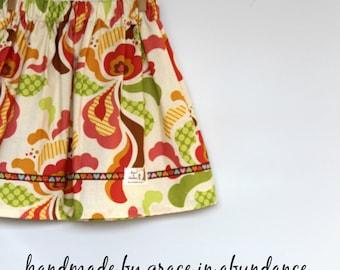 Girls Skirt   size 5    one-of-a-kind!    Heather Bailey Freshcut