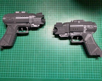 Ghostbusters 2016 Reboot Holtzmann Proton Pistol 3D Kit