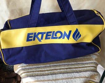 1980's Ektelon gym duffle bag
