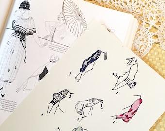 Vintage Sewing Pattern Print 8x10