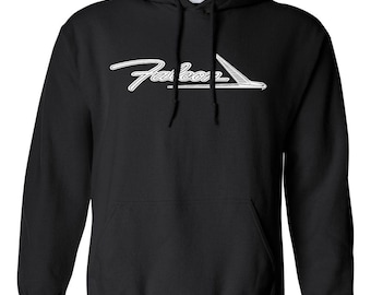 Ford Falcon Custom Screen Printed Hot Rod Muscle Classic Car Hoodie Hooded Sweatshirt
