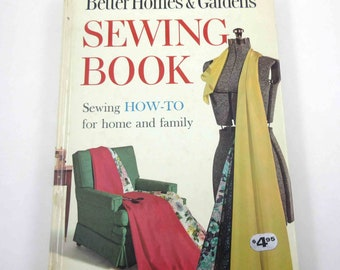 Vintage 1960s Better Homes and Gardens Sewing Book