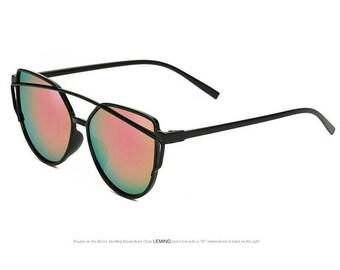 New Rainbow  Luxury Cat Eye sunglasses