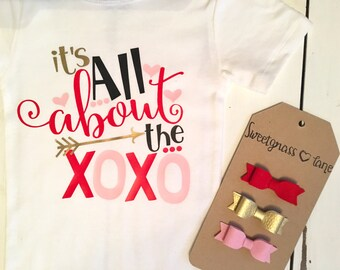 Its all about the xoxo valentine shirt Valentine's Day