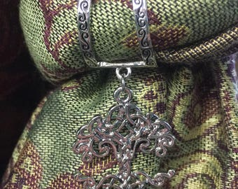 Scarf Charm-Tree of Life