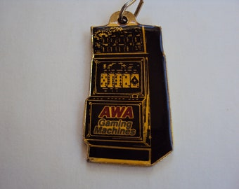 AWA gaming machines keyring
