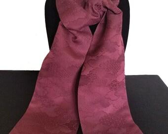Kimono Scarf S8643- purple-red clouds