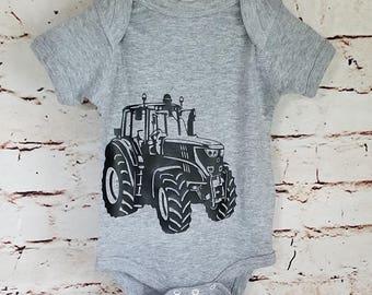 John Deere Onesie/Body Suit, Farm Shirt, John Deere, Tractor shirt, John Deere Tractor, Infant Farm, County Infant Body Suit