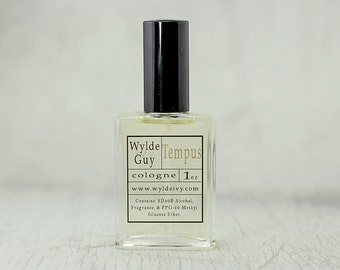 Tempus | Wylde Ivy Guy Men's Cologne 1oz with notes of Amber, Sandalwood, Black Vanilla, Labdanum Resin, and Leather