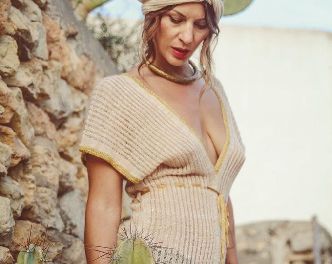 Women Linen dress, Boho wedding dress, silk dress, linen dress | sexy dress | hippy dress | burning man clothing women