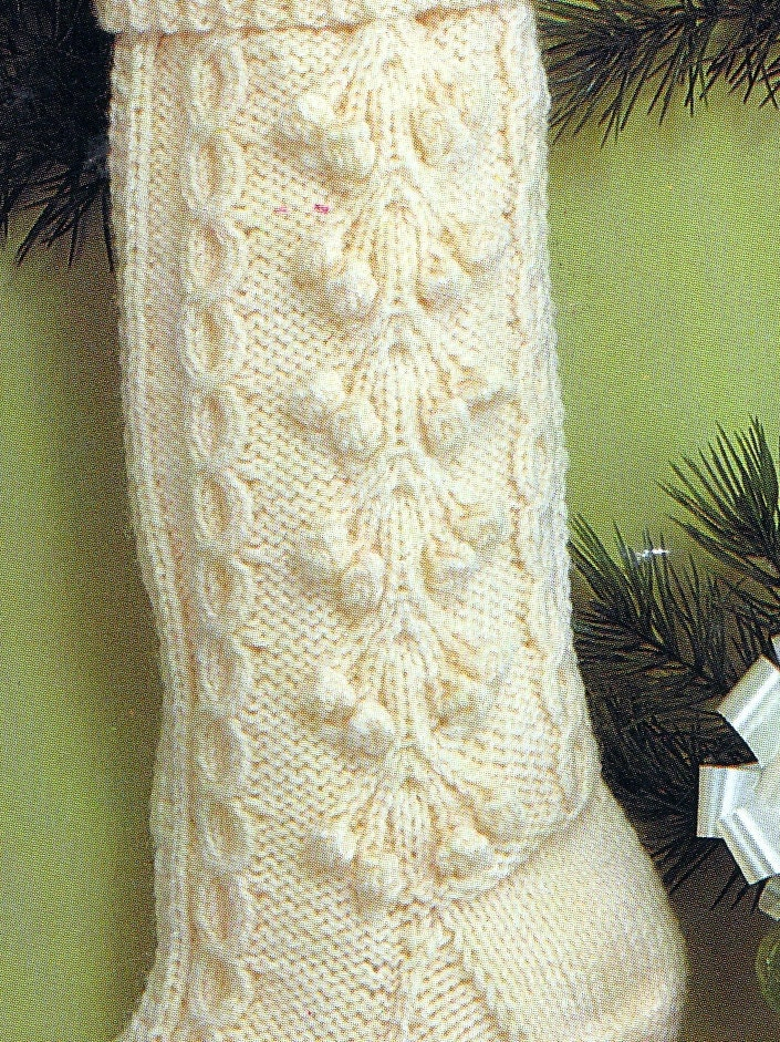 Knit Christmas Fisherman Stocking Vintage Knitting PDF PATTERN Retro ...