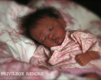 Realistic asian preemie baby,Brooklyn by Laura Lee Eagles ,Fairy collection!!!