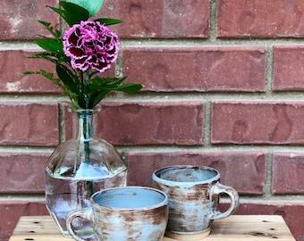 small mug - handmade - ceramic - pottery - stoneware