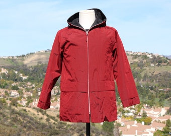 Technical Red Raincoat (Vintage / 80's / Sanyo)