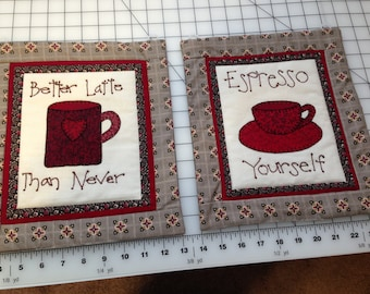 Appliqued & Hand Embroidered Decorative Wall Hangings