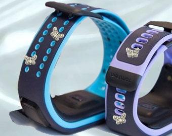 Fitness-Watch Charm, Butterfly; Personalize your watchband with style and charm!