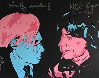 Warhol X Jagger