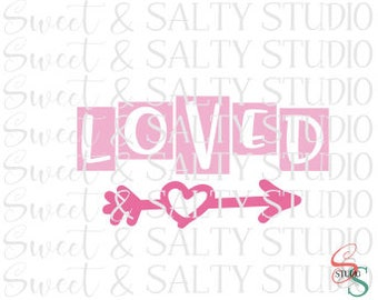 loved blocks (2 versions included - layered and sliced) digital file