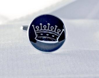 Crown Cufflinks