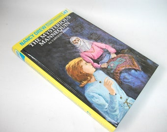 Nancy Drew Hollow Book Safe Mysterious Mannequin Storage Jewelry Compartment Box