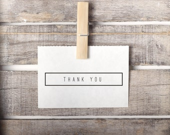 Simple Thank You Stamp