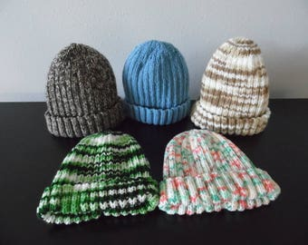 Classic adult knitted winter cap