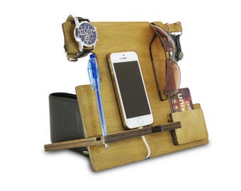 Cell Phone Stand for Desk or Cell Phone Desk Holder, Cell Phone Caddy, iPhone Desk Stand, Smart Stand Phone or Phone Stand Desk, Phone Desk