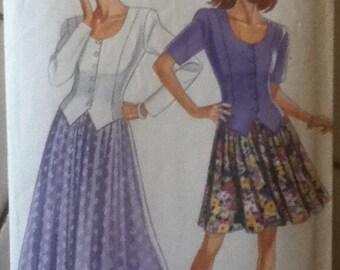 """New Look Jacket & Skirt Pattern 6659  Size: 6-16, Bust 30""""-38"""", Waist 23""""-30"""", Hips 32""""-40"""""""