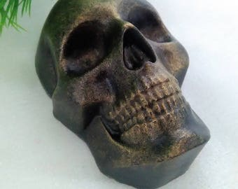 SKULL soap, handmade soap, soap, Halloween, black soap, red soap, gift for Halloween, a soap skull, a skeleton