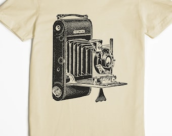 Women's Shirt - Photography T-shirt - Camera Tshirt - graphic t shirt - photographer gift - vintage camera