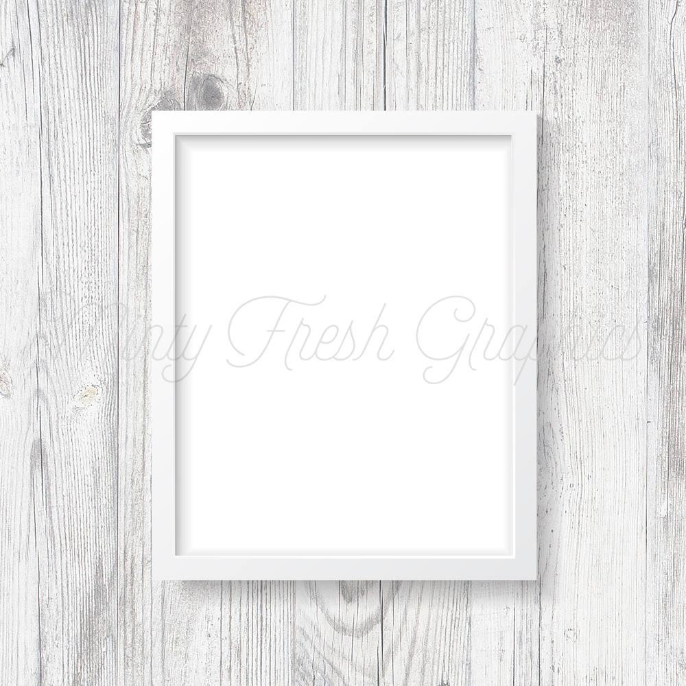 Marco maqueta marco blanco madera blanco de la pared 16