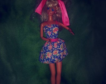 1980s vintage Barbie fashion doll original clothes and jewelry vintage toys