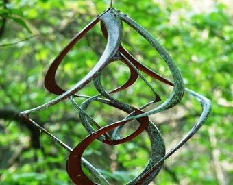 Bronze Patina Spiral Cosmix Wind ...