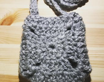 Crocheted Shoulder Purse