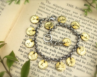 Dandelion Puff Wish Charm Bracelet