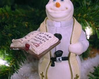 Whimsical Snowman - Parson Brown