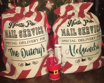 Customize Your Own Presents Santa Bag