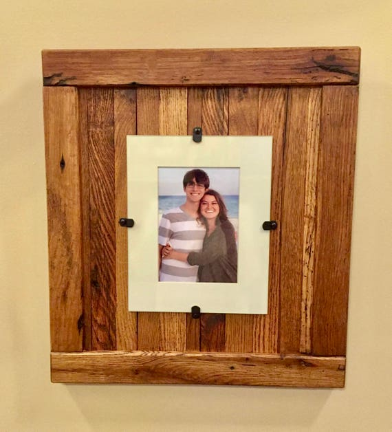 Rustic Wood Frame, Rustic Frame, Reclaimed Wood Frame, 5 x 7 Picture ...