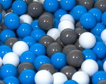 Children Plastic Balls for Ball Pits, play, Kids, Bouncy Castle 300 balls
