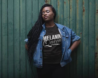 NEW Melanin Queen  - Melanin Magic -  Crewneck Sweatshirt