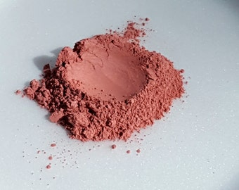 Mineral Blush - Loose Powder - Pure Minerals - Light Rose by RAW Beauty LLC